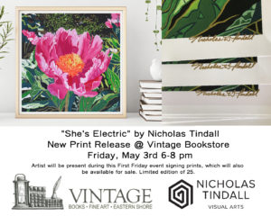 """She's Electric"" by Nicholas Tindall"